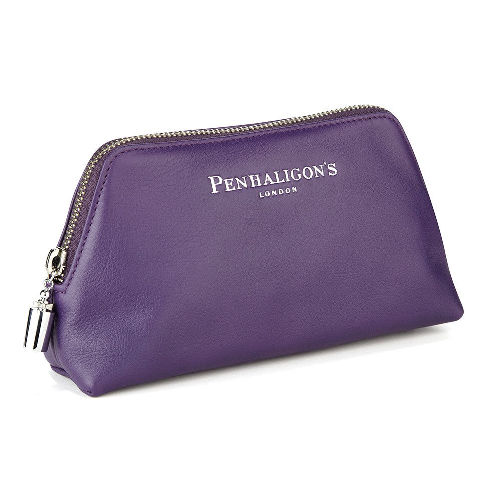 Large Cosmetic Bag Purple from Penhaligon's | Purple bags