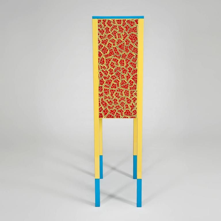 Du0027Antibes Cabinet By George Sowden For Memphis