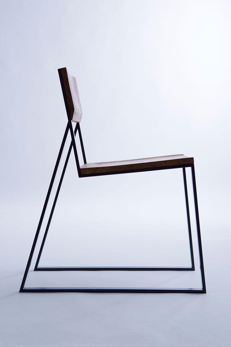 Stuhl Designklassiker k1 minimalistisches stuhl design mit ausgeprägtem charakter