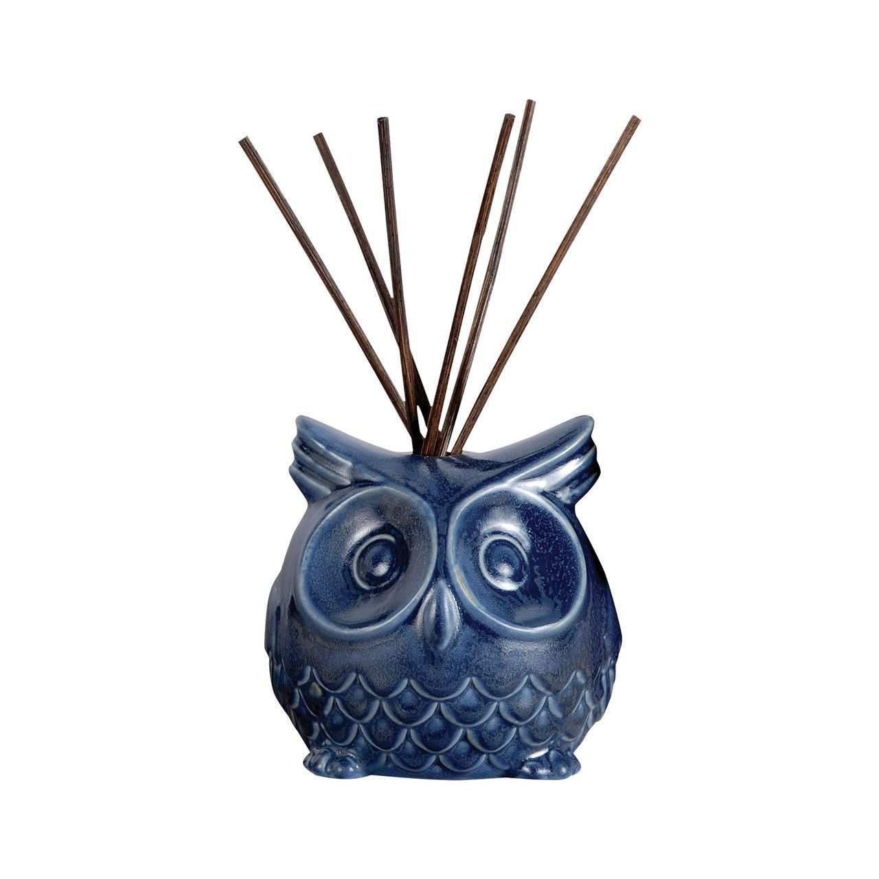Pomeroy Owl Reed Diffuser In Deep Blue
