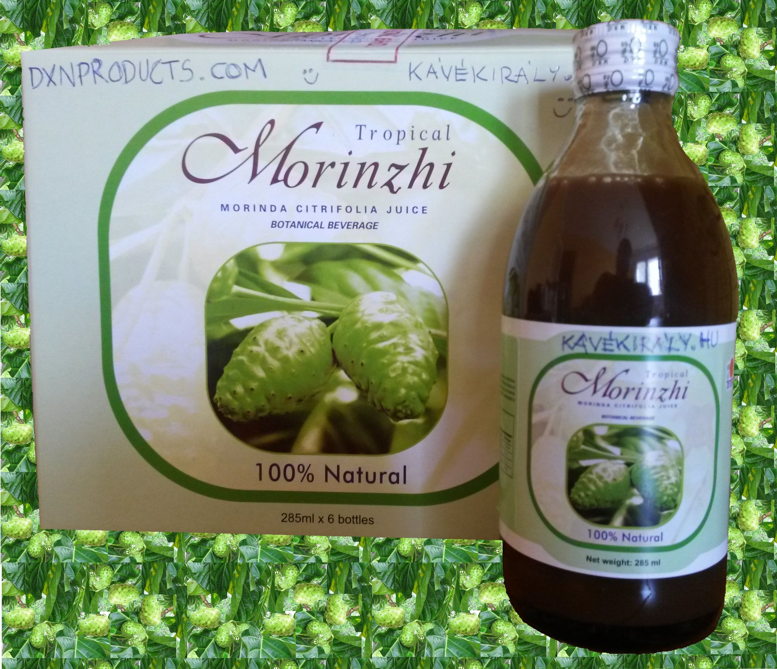 Noni fruit originates from the French Polynesian archipelago