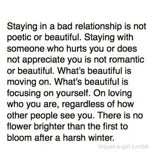 Quotes About Moving On From A Bad Relationship