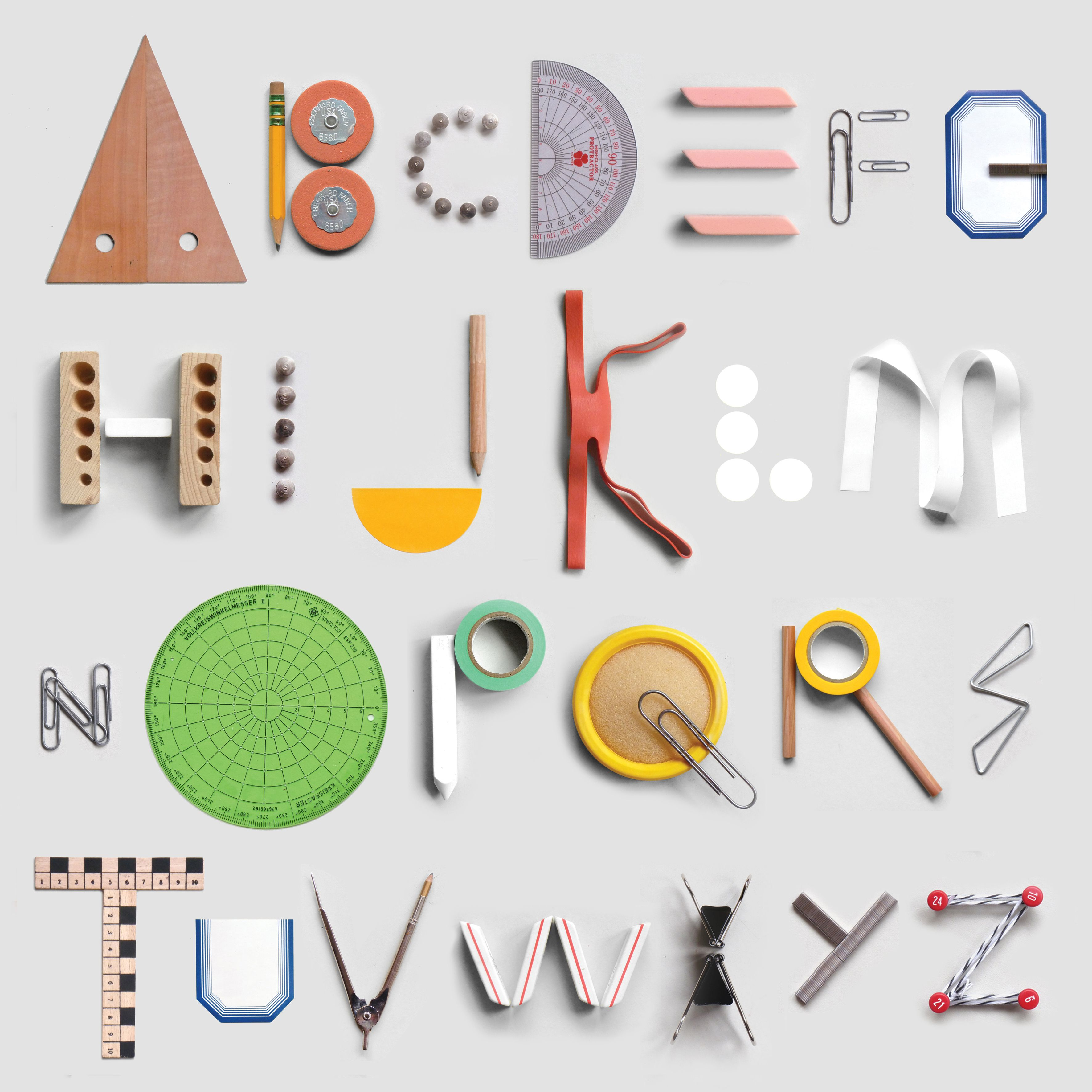 Stationery Alphabet Typography Alphabet Alphabet Photography Graphic Design Typography