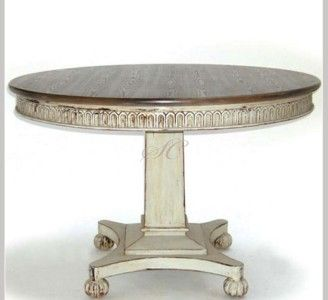 contemporary hand painted round dining table round wood on hand painted dining room tables id=45206