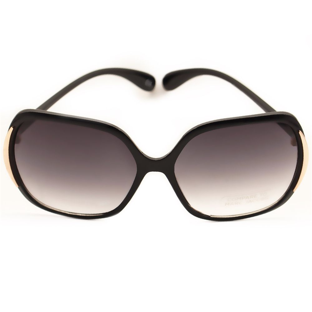 a6dd6b3e1a Fashion Brand Black Frame Eyewear Accessories Anti-UV Sun Glasses Polarized  Sunglasses
