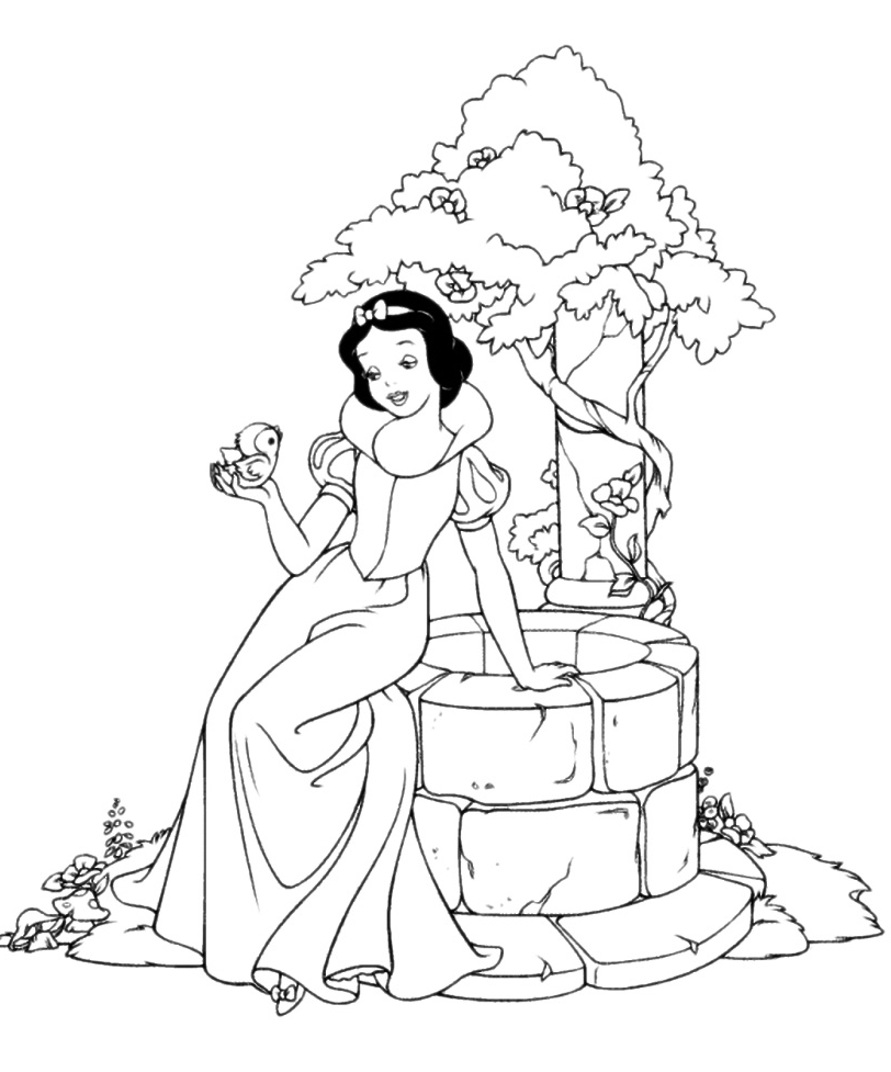 Explore Snow White Coloring Pages Disney Belle and more