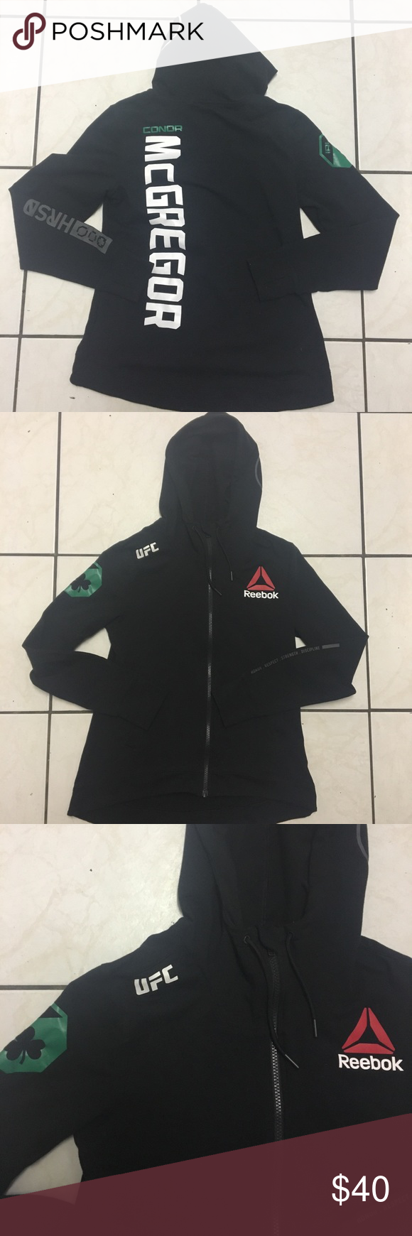 Conor Mcgregor Ufc Youth Official Walkout Hoodie 10 10