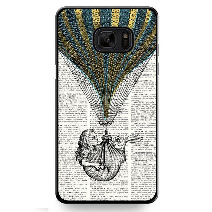 Alice In Wonderland Book TATUM-509 Samsung Phonecase Cover For Samsung Galaxy Note 7