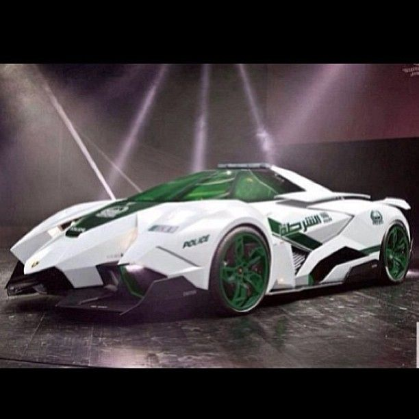 Hot or Not? -Lamborghini Ecoista Concept fighter jet inspired!