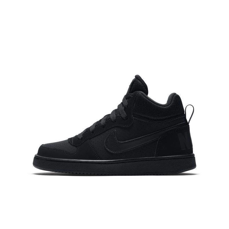 Nike Court Borough Mid Older Kids' Shoe Black | Old shoes