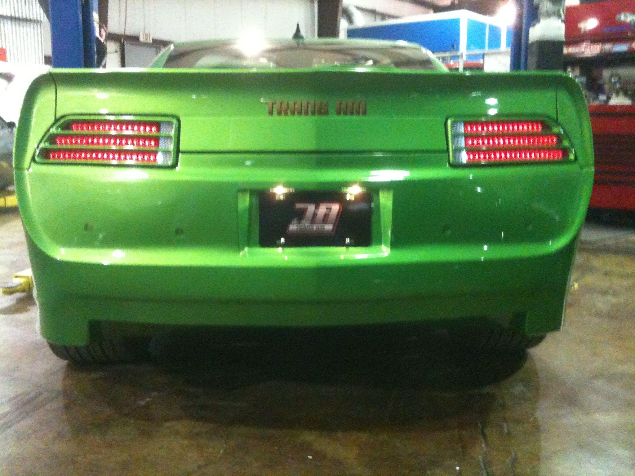 Green rear Hot cars, Vehicles, Cars