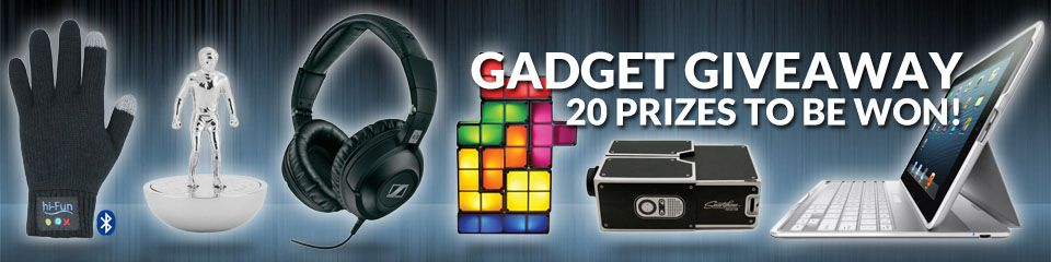 20 GREAT #PRIZES TO BE WON! Choose from a selection of great #gadgets including a smartphone projector, Magic Wand TV remote control​, Batman lamp, Bluetooth gloves and many more!  All you need to do is play your favourite games during October and for every £/€20 wagered you'll earn a ticket into the Gadget Giveaway.