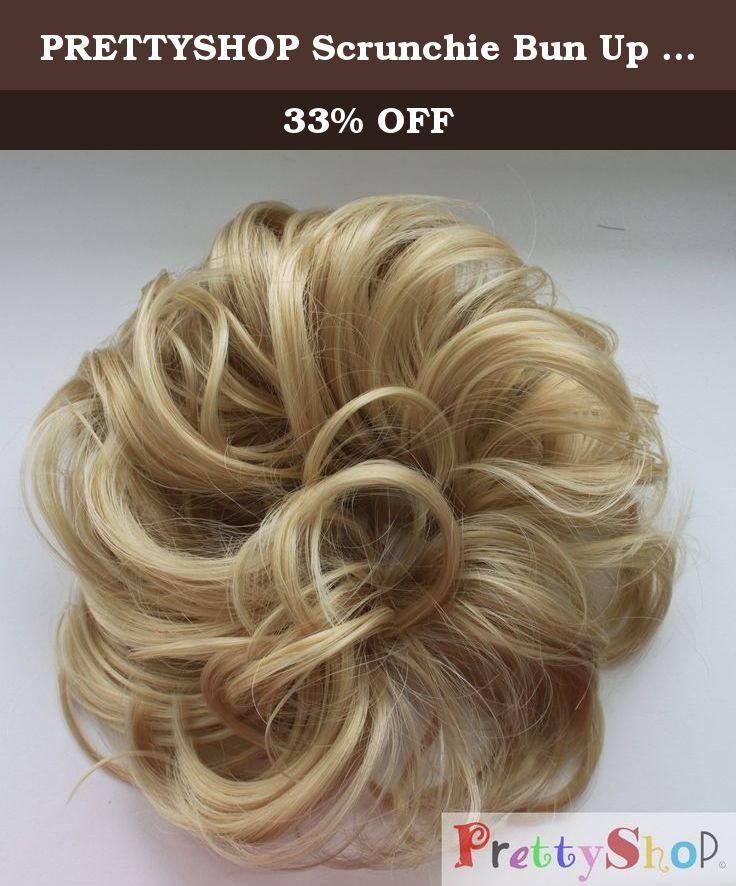 Prettyshop Scrunchie Bun Up Do Hair Piece Hair Ribbon Ponytail