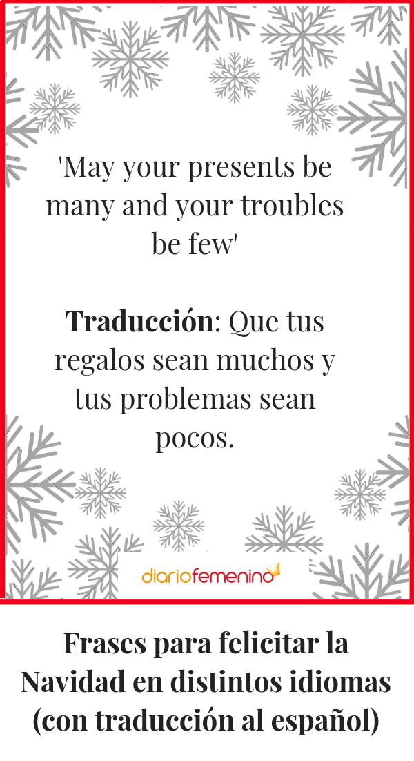 Frases Para Felicitar La Navidad En Distintos Idiomas Con Traducción Al Español Frases Para Felicitar Frases Navideñas Frases Para Tarjetas Navideñas