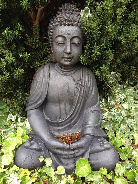 Image Gratuite Sur Pixabay Bouddha Jardin Bouddhisme Zen