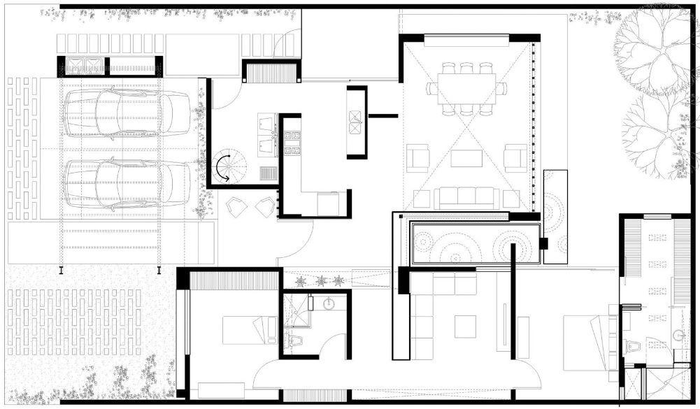 plano de casa para 150 metros cuadrados plantas de casas