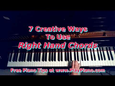 How To Play The Same Song A Dozen Different Ways Youtube Piano
