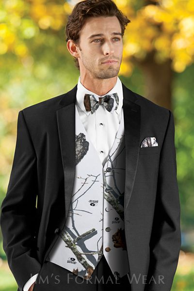 Men White Camo Formal Vest Man Camouflage Tuxedo Vest Custom Make Free Shipping Handsome Appearance vest +bow Tie