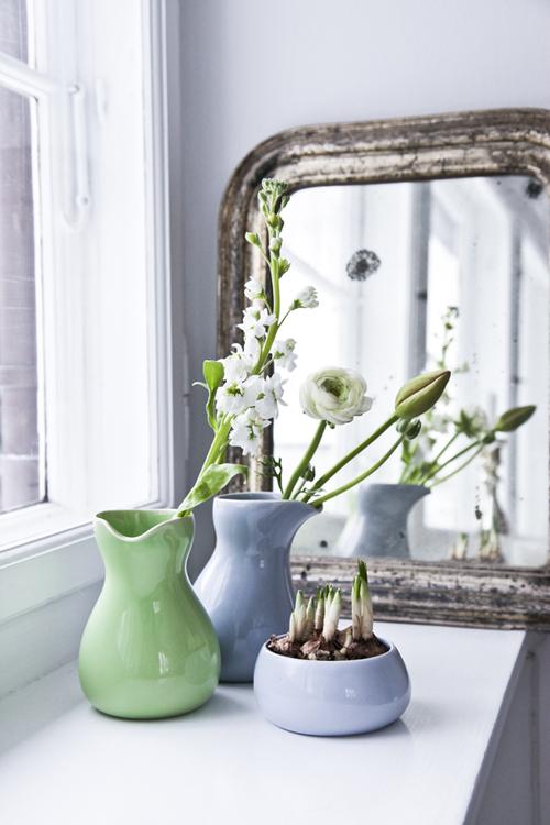 Fr hlings deko inspiration lifestyle flowers keramik deko und vase - Pastellfarben deko ...