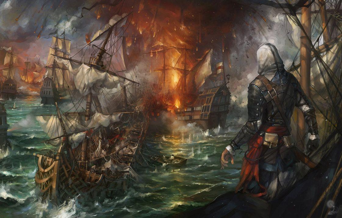 Assassins Creed Iv Black Flag Fanart By Haryarti Assassins Creed Black Flag Assassins Creed Art Assassins Creed