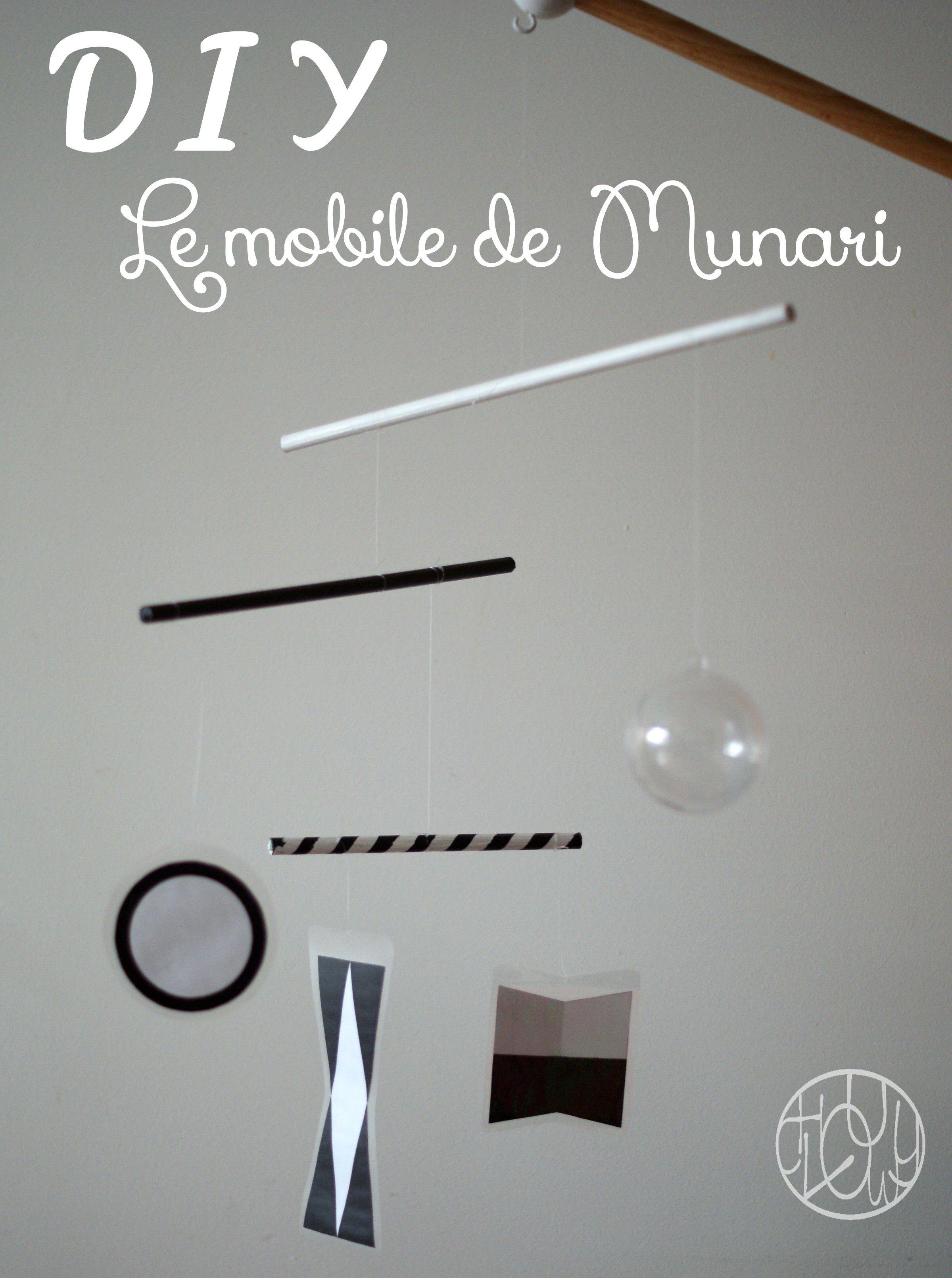 DIY Montessori : Le mobile de Munari - Dans ma petite roulotte...