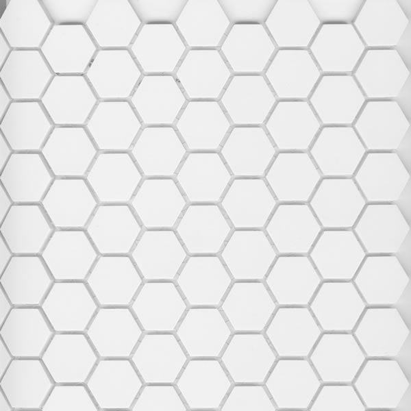 Historic Series Unglazed One Inch Hex Tile
