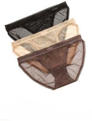 c074cb6e1ab Calvin Klein Underwear Icon String Bikini 3 Pack on shopstyle.com ...