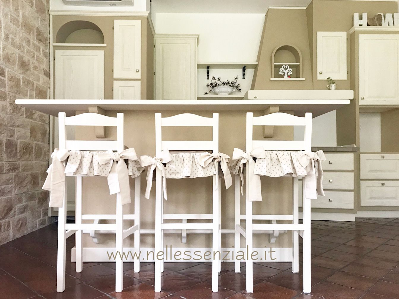 Cuscini per cucina open space in muratura | Etsy handmade, Shabby ...