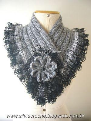 Silvia Gramani Croch Crochet Scarves And Crochet Shawl