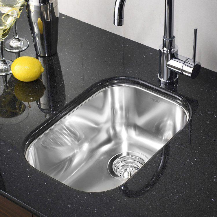 BLANCO SOP402 Wave Plus Single Bowl Undermount Kitchen Sink   Lowe\'s ...