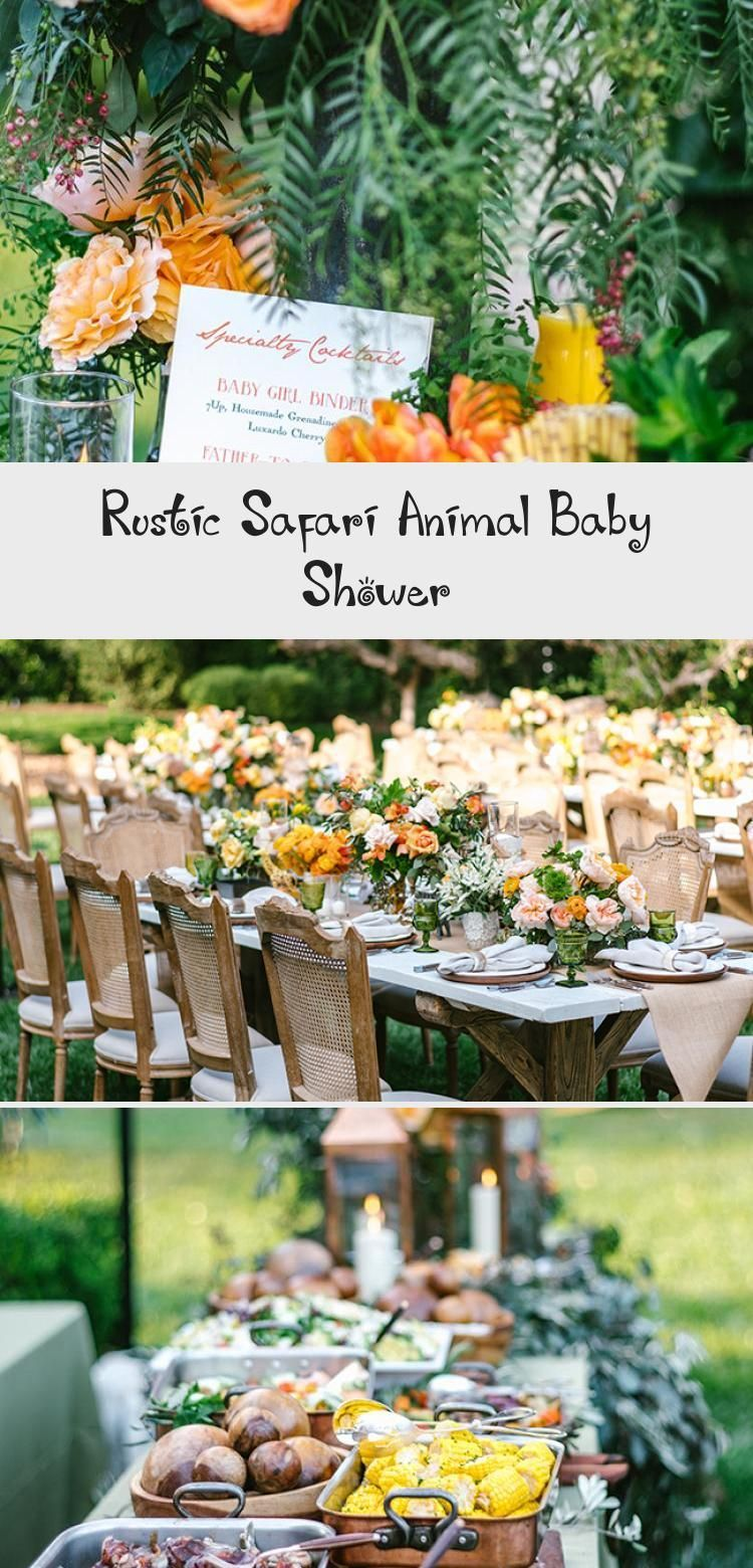 Rustic Safari Animal Baby Shower - health and diet fitness -  Rustic Safari Animal Baby Shower #Rust...