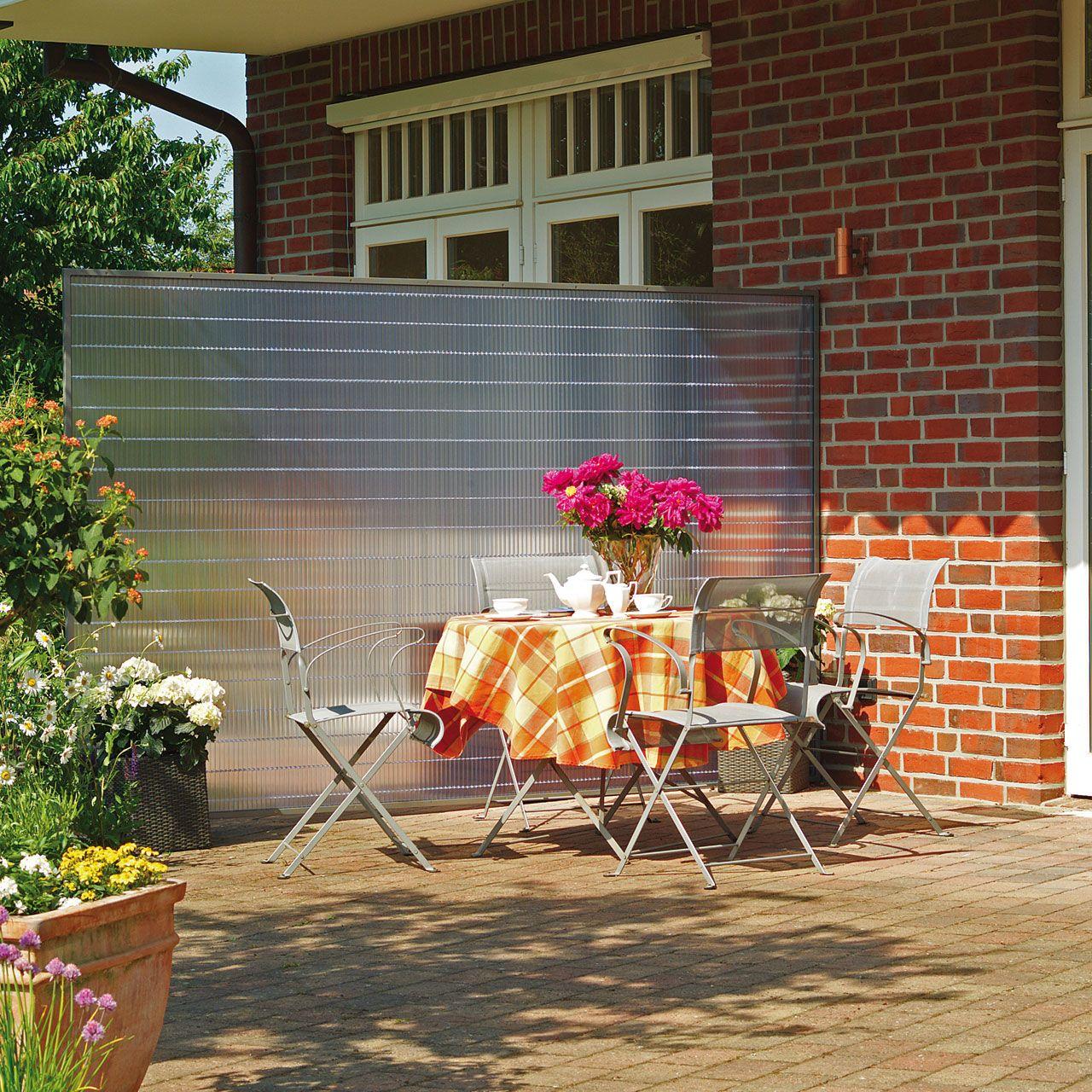 Sichtschutzmatte Kunststoff Sunline Transparent