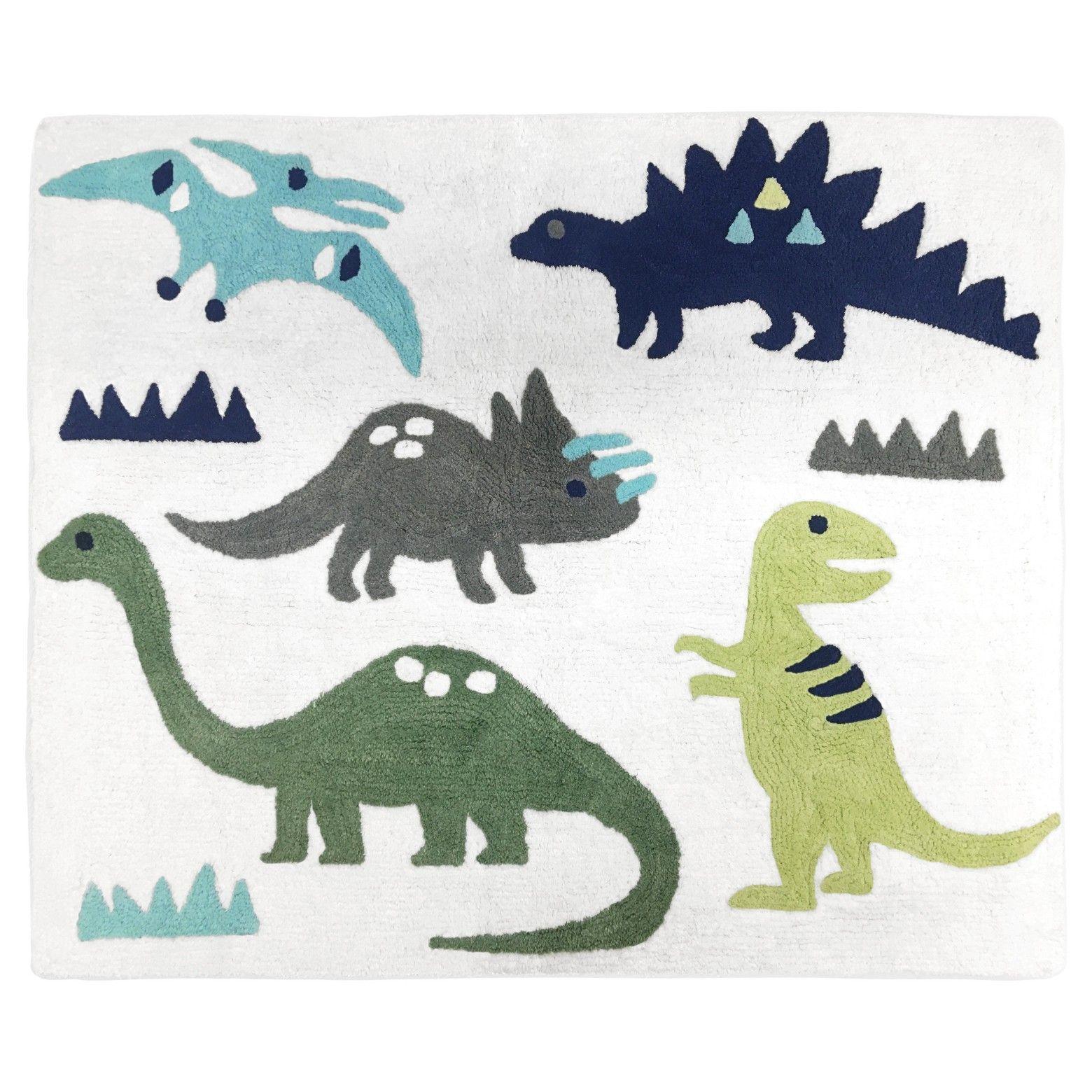 Green Blue Dinosaur Rug 2 X3 Sweet Jojo Designs Dinosaur Rug Blue Gray Area Rug Dinosaur Bedding
