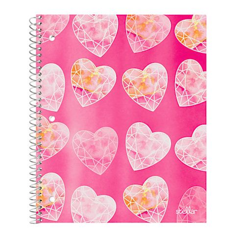 Office Depot Brand Fashion Stellar Notebook  X   Wide Ruled