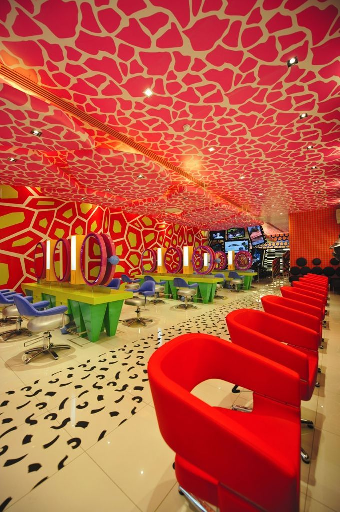 This Room Outfitted With Ceiling Graphics, Floor Graphics, And Wall Murals  Is An Ultimate Example Of Wide Format Print In Interior Design.