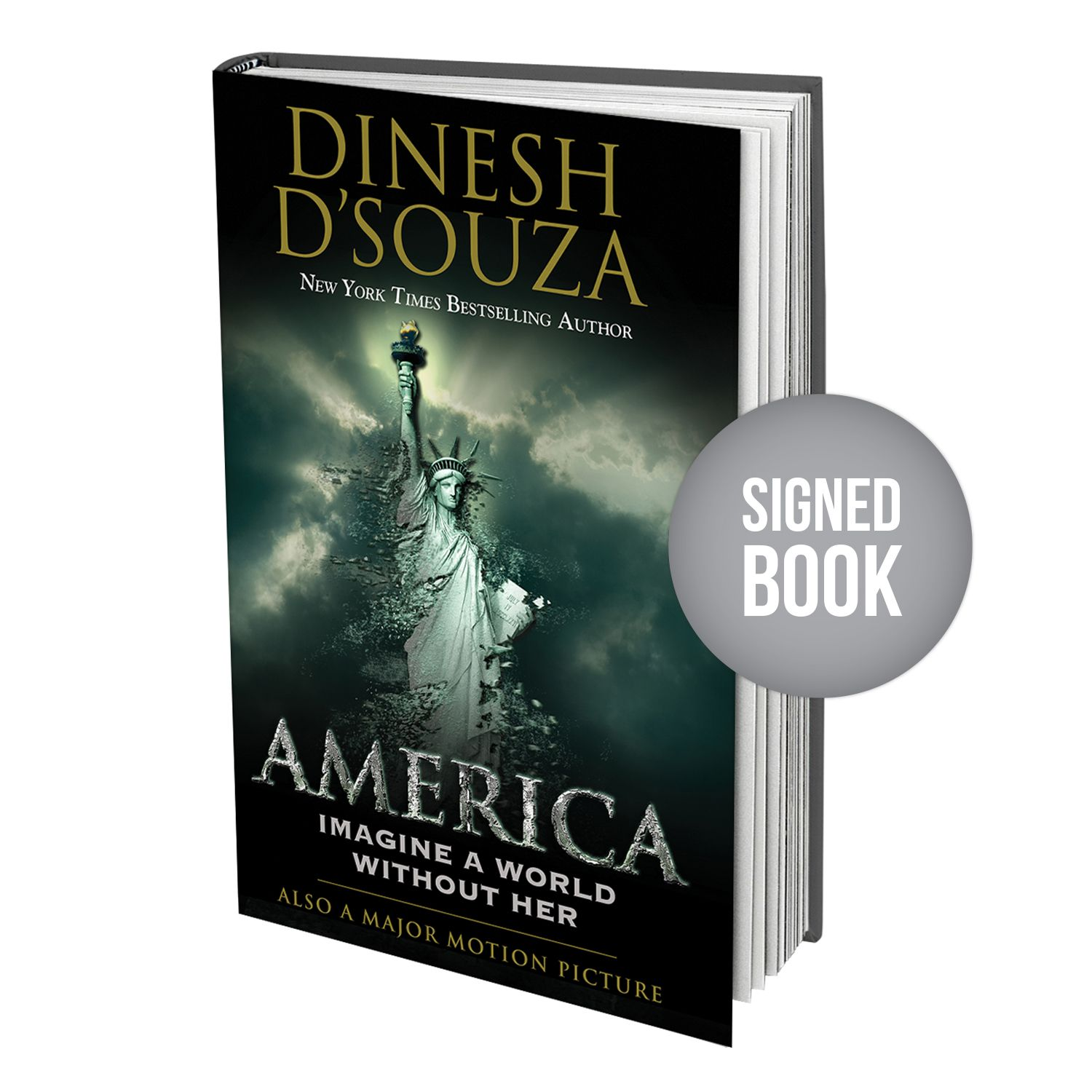 The Big Lie Book Signed By Dinesh D Souza Dinesh D Souza Book Signing Books