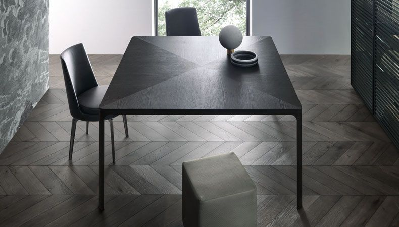 Tavolo rimadesio ~ Flat dining table by rimadesio mutiple finishes sizes haute