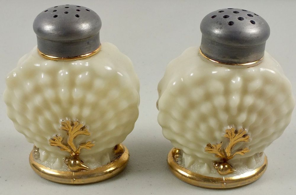 new retro style sandcastle ceramic salt and pepper pots sand castle