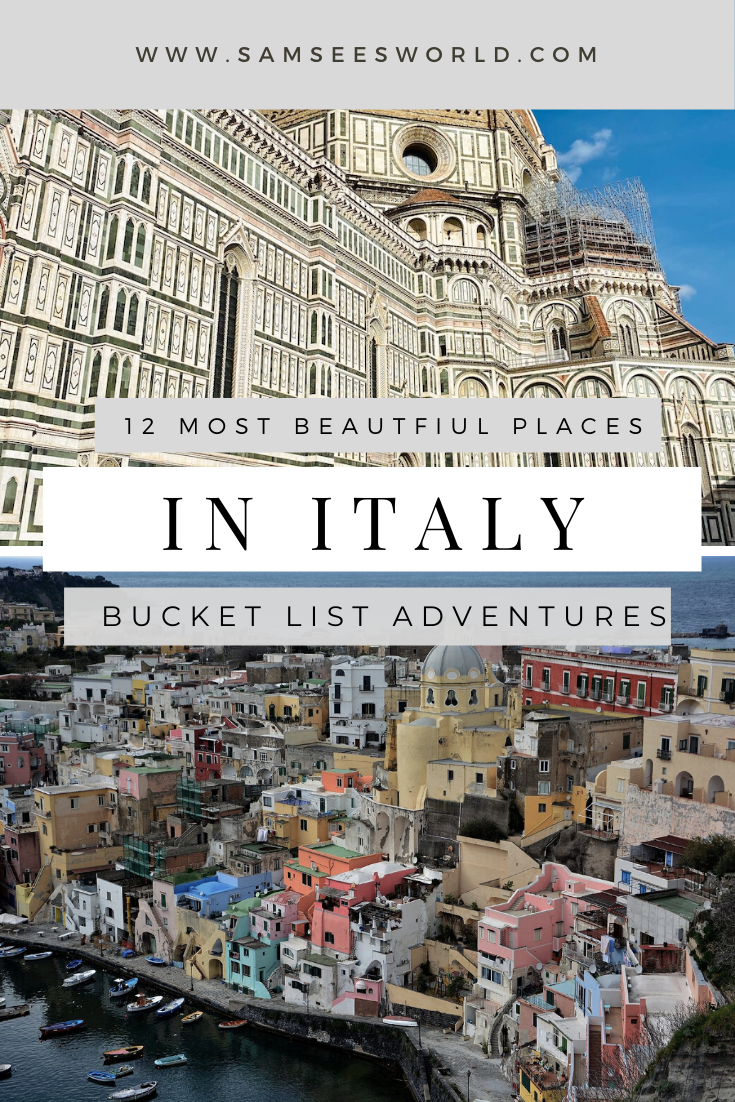 Photo of 12 Prettiest Places to Visit in Italy