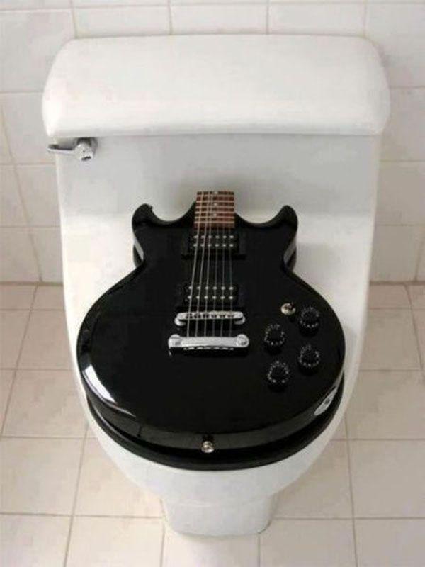 25 Borderline Genius Ideas In Pictures Snappy Pixels Music Furniture Music Room Guitar
