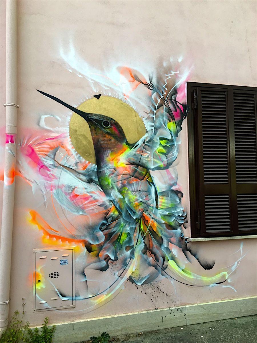 Streetart By Luis Seven Martins Street Art Pinterest Street