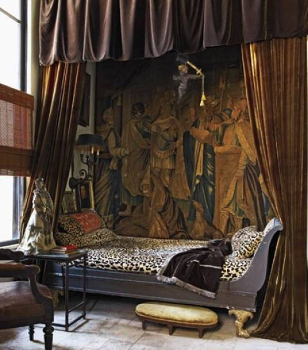 Delightful Home Design And Decor , Old World Decorating Ideas : Old World Decorating  Bedroom