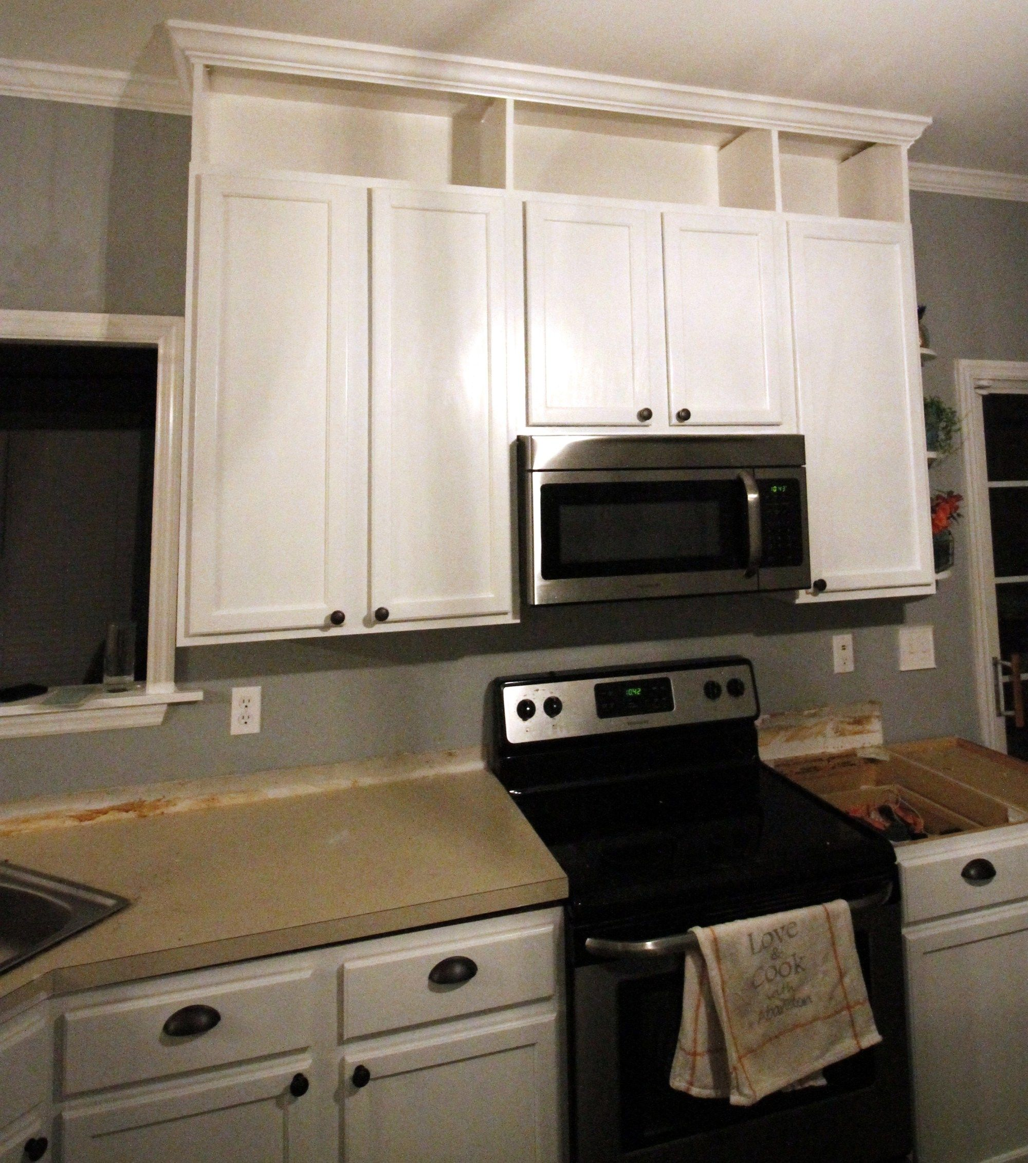 How To Extend Kitchen Cabinets To The Ceiling Kitchen Cabinets