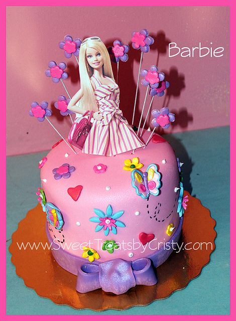 Pleasant Barbie Cake Barbie Birthday Cake Funny Birthday Cards Online Benoljebrpdamsfinfo