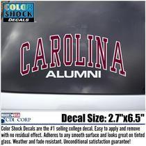 South Carolina Gamecocks Colorshock Alumni Decal