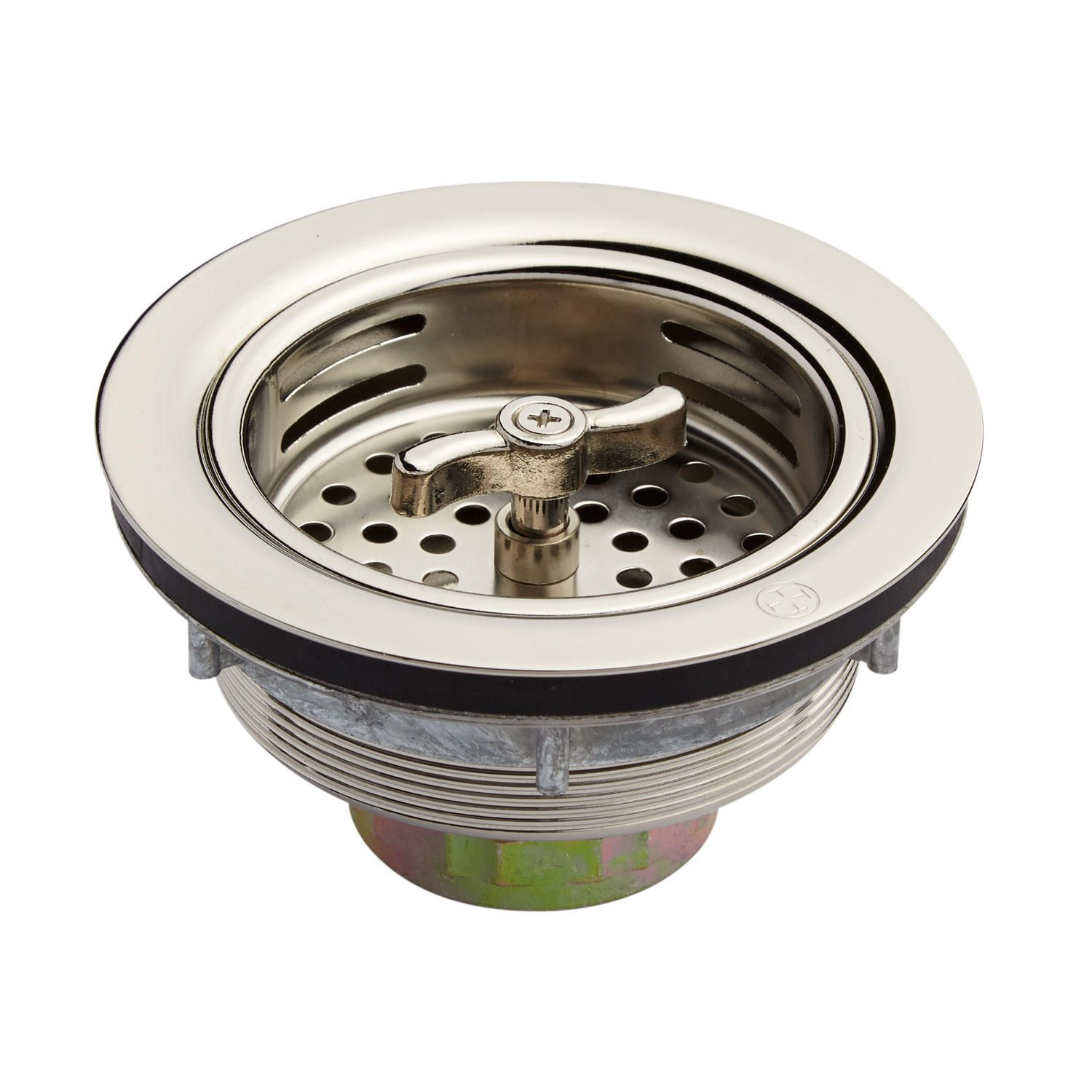 Strainer Basket with Wing Nut Stopper 3 12
