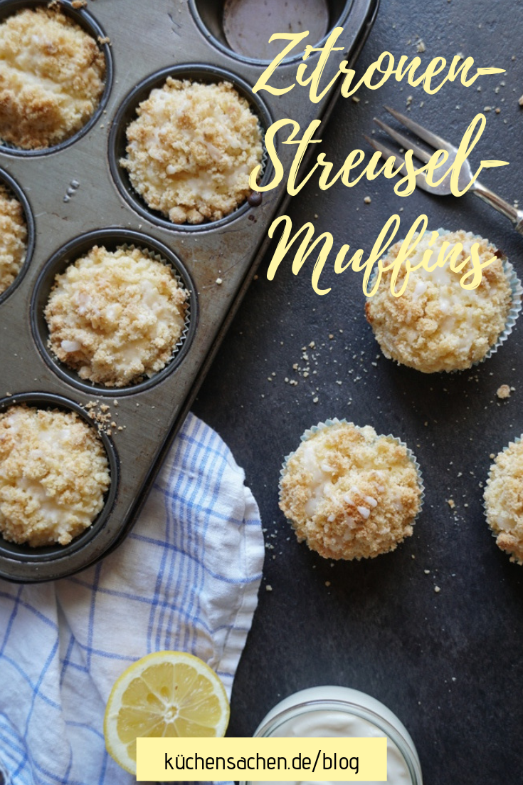 Zitronen-Streusel-Muffins