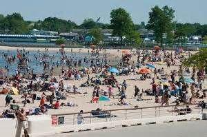 Orchard Beach Bronx Ny The Puerto Rican Riviera