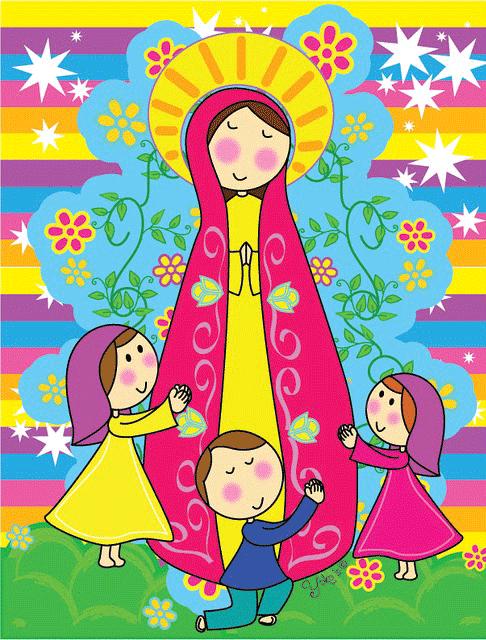 Virgen Maria para imprimir-Imagenes y dibujos para imprimir   Virgen maria  para niños, Virgen maría, Imágenes religiosas