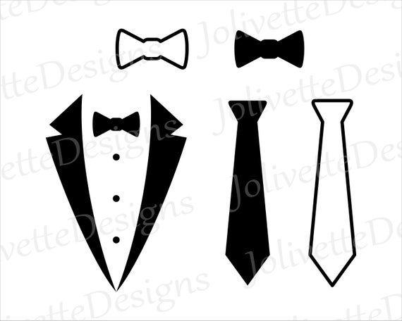 Tie Bow Tie Tuxedo Suit Clip Art Clipart Design Svg Etsy In 2021 Laptop Decal Clip Art Tuxedo